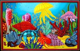 Hermit Crab's Breakfast. - Sold.